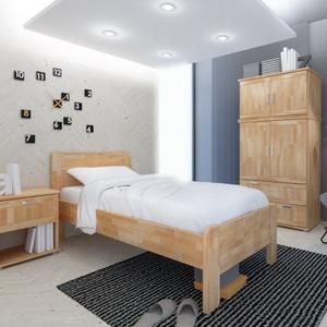 ec95c9dd66e9 Dřevěné postele z masivu-DUB-BUK-SMRK-BOROVICE